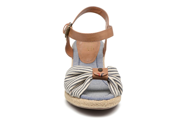 Sandales et nu-pieds Tom Tailor Nalian Bleu vue portées chaussures