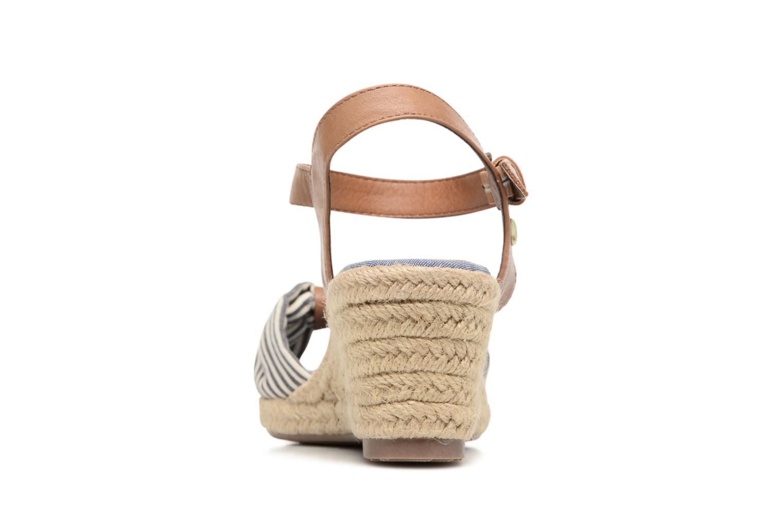 Sandales et nu-pieds Tom Tailor Nalian Bleu vue droite