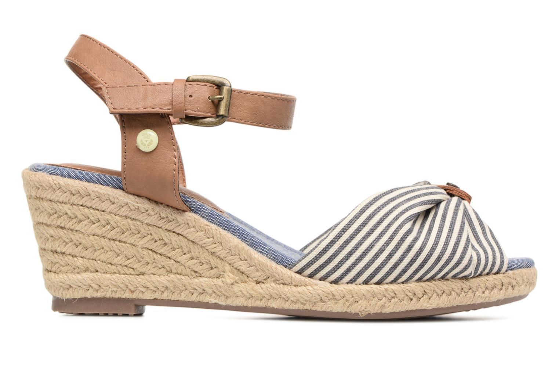 Sandales et nu-pieds Tom Tailor Nalian Bleu vue derrière