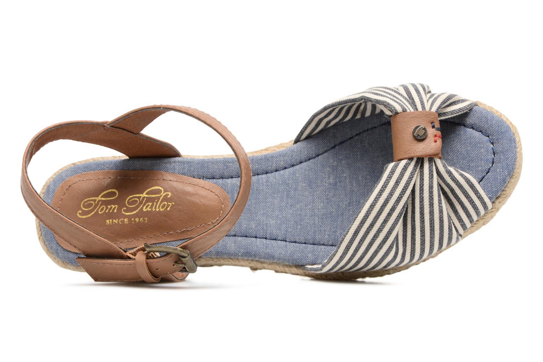 Sandales et nu-pieds Tom Tailor Nalian Bleu vue gauche