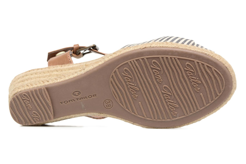 Sandales et nu-pieds Tom Tailor Nalian Bleu vue haut