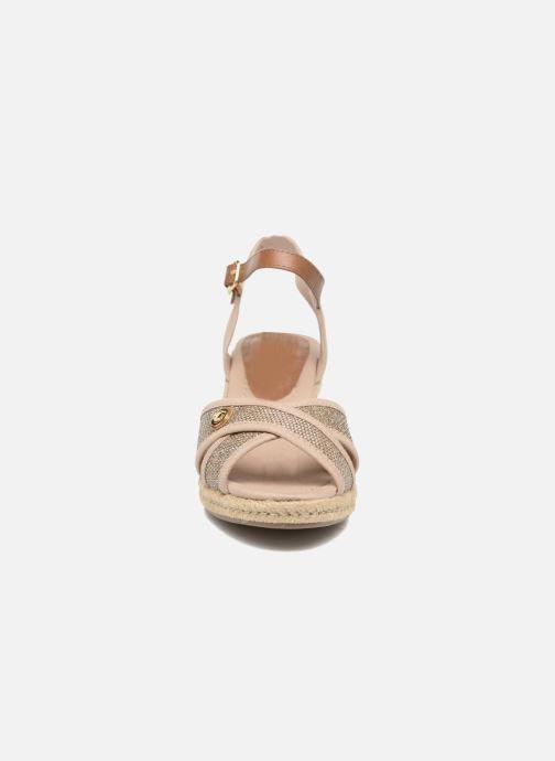 Sandales et nu-pieds Tom Tailor Vulquin Beige vue portées chaussures