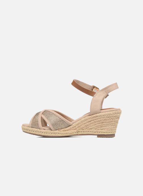 Sandalen Tom Tailor Vulquin Beige voorkant