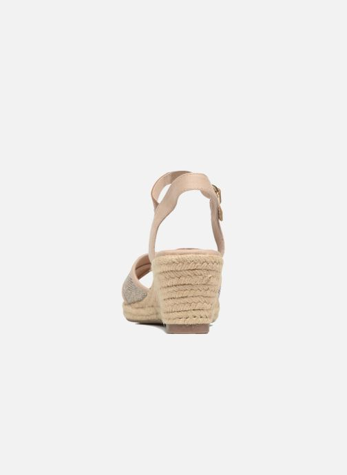 Sandals Tom Tailor Vulquin Beige view from the right