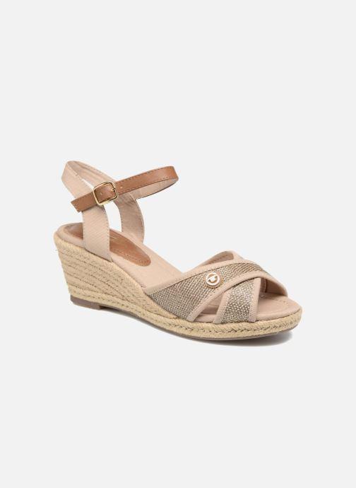 Sandales et nu-pieds Tom Tailor Vulquin Beige vue détail/paire