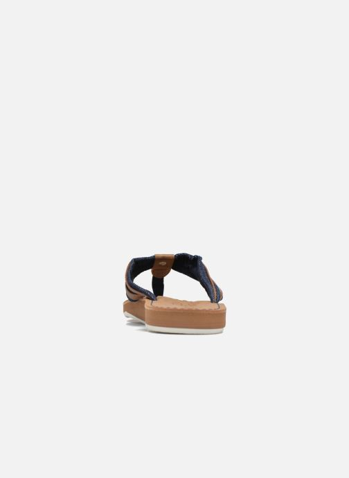 Flip flops Tom Tailor Cloudy Brown view from the right