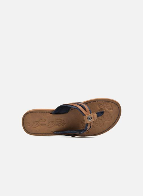 Flip flops Tom Tailor Cloudy Brown view from the left