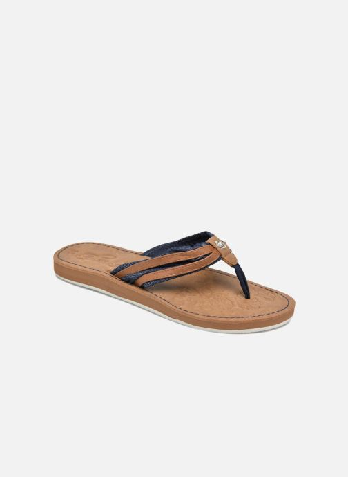 Flip flops Tom Tailor Cloudy Brown detailed view/ Pair view