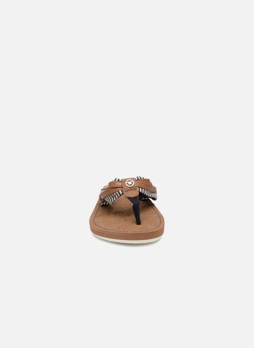 Tongs Tom Tailor Cloudy Bleu vue portées chaussures