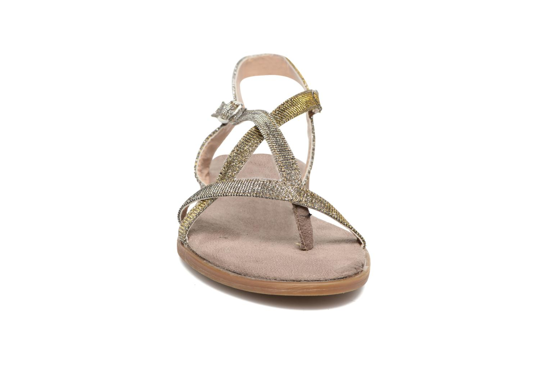 Sandales et nu-pieds Tom Tailor Guadal Or et bronze vue portées chaussures