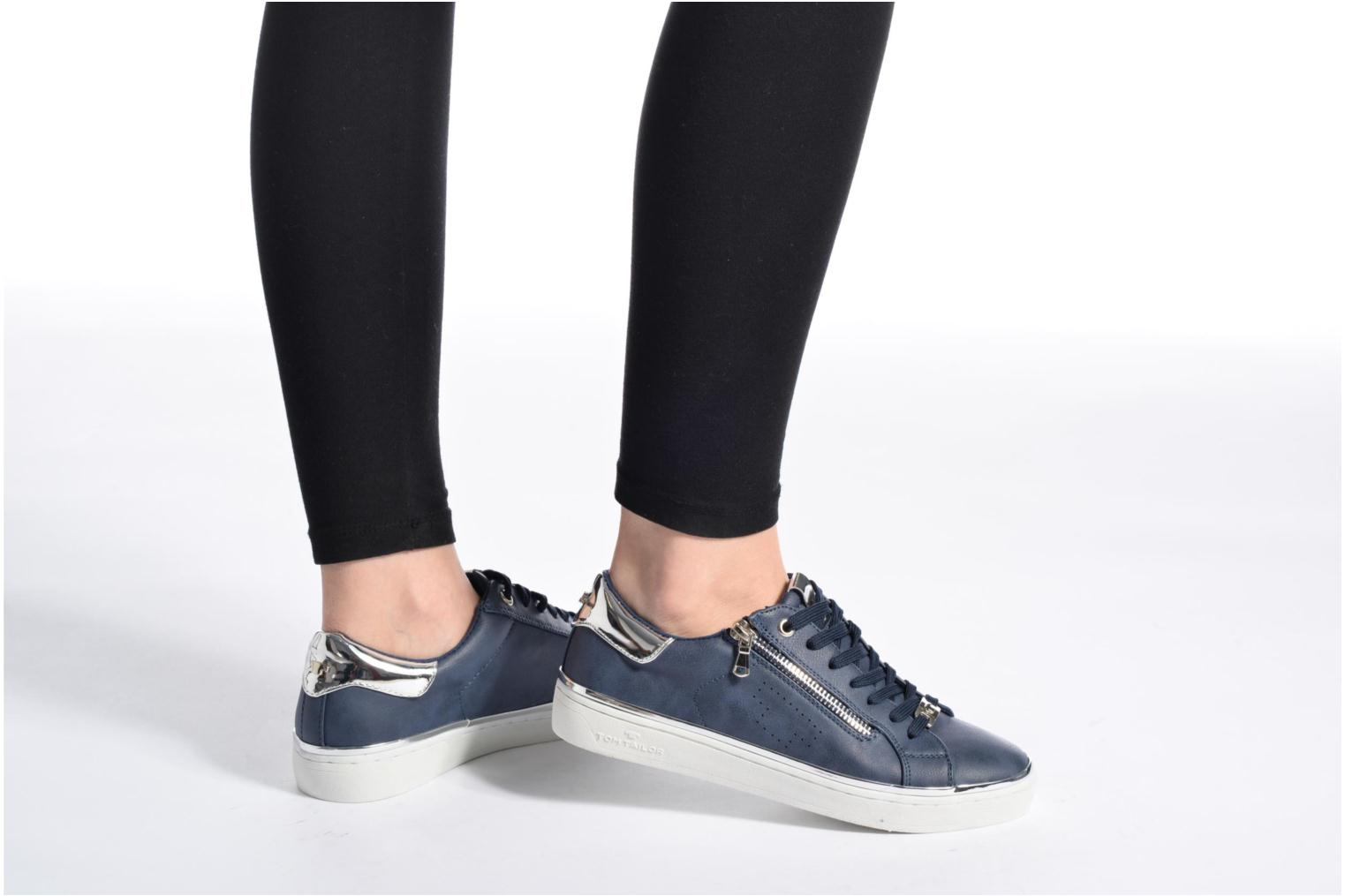 Trainers Tom Tailor Coolioo Blue view from underneath / model view