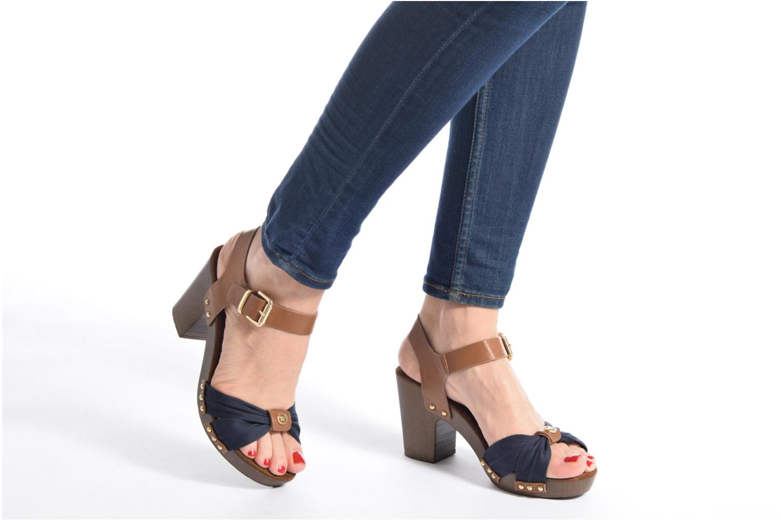 Sandals Tom Tailor Monica Blue view from underneath / model view