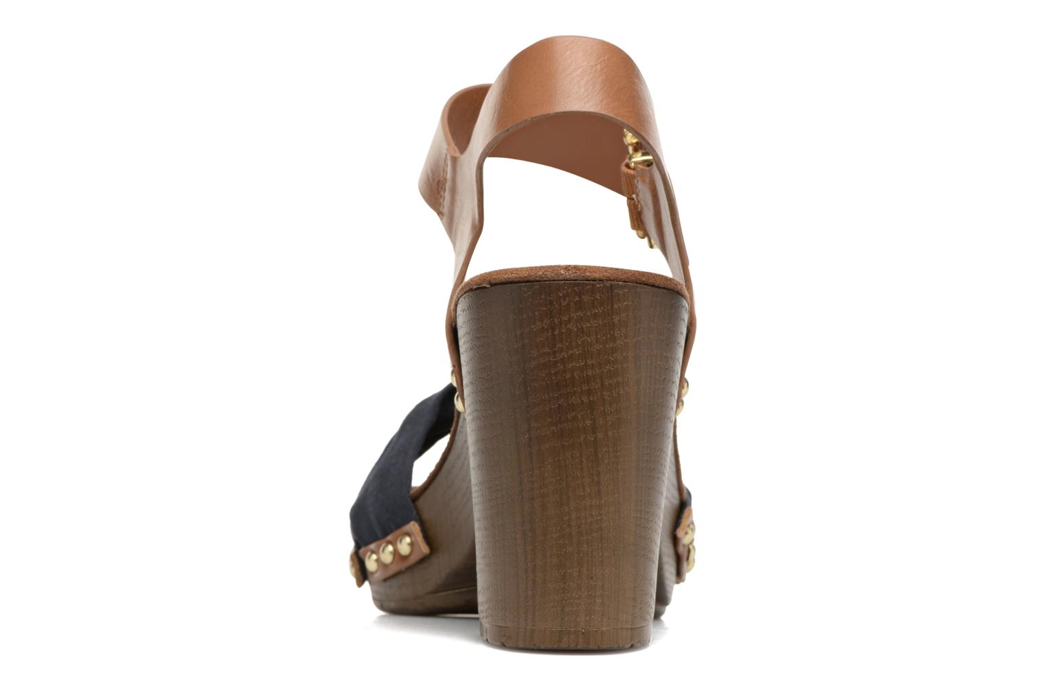 Sandals Tom Tailor Monica Blue view from the right