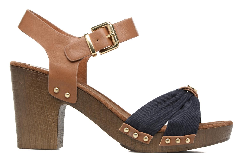 Sandals Tom Tailor Monica Blue back view