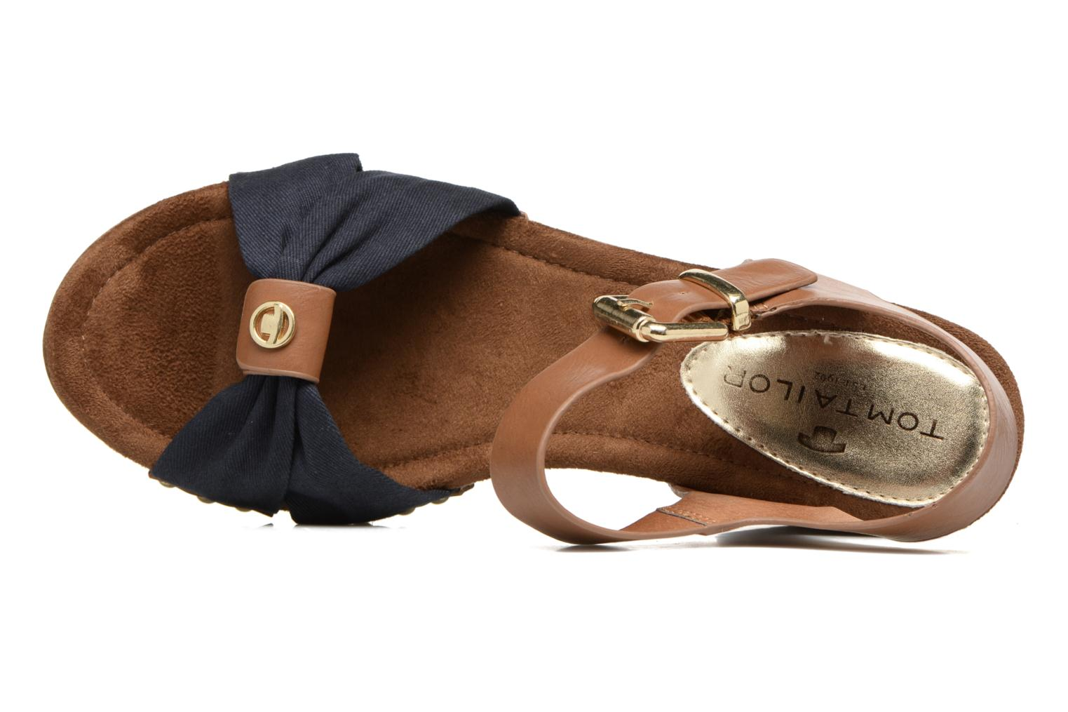 Sandals Tom Tailor Monica Blue view from the left