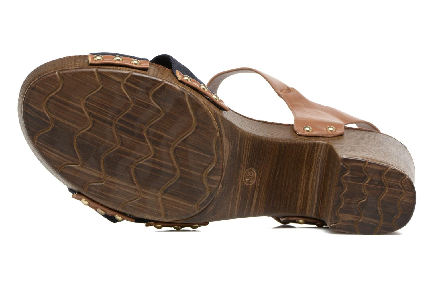 Sandals Tom Tailor Monica Blue view from above