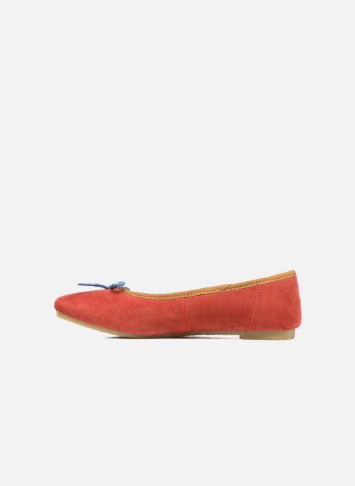Ballerina's Kickers Baie Rood voorkant