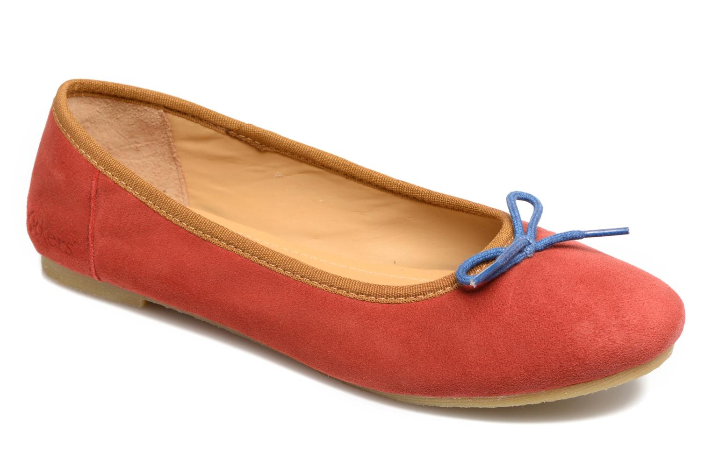 Ballerinas Kickers Baie rot detaillierte ansicht/modell
