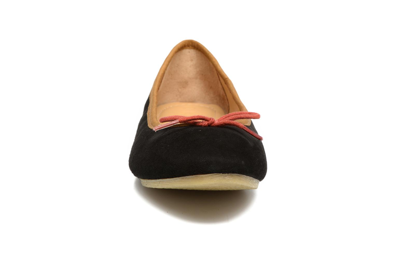 Ballerinas Kickers Baie schwarz schuhe getragen