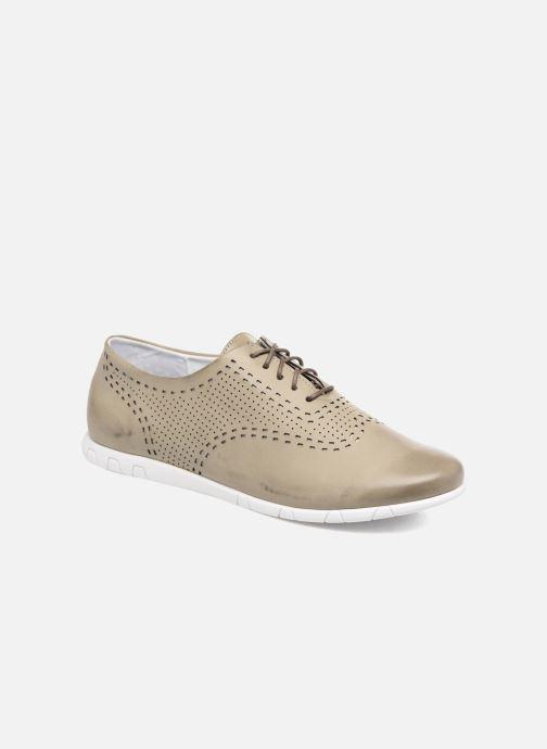 Zapatos con cordones Kickers Becki Gris vista de detalle / par