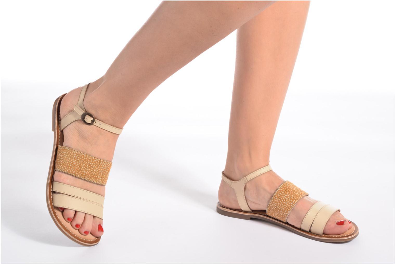 Sandaler Kickers Divatte Sort se forneden