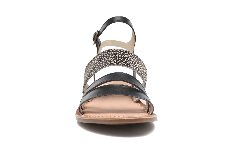Sandaler Kickers Divatte Sort se skoene på