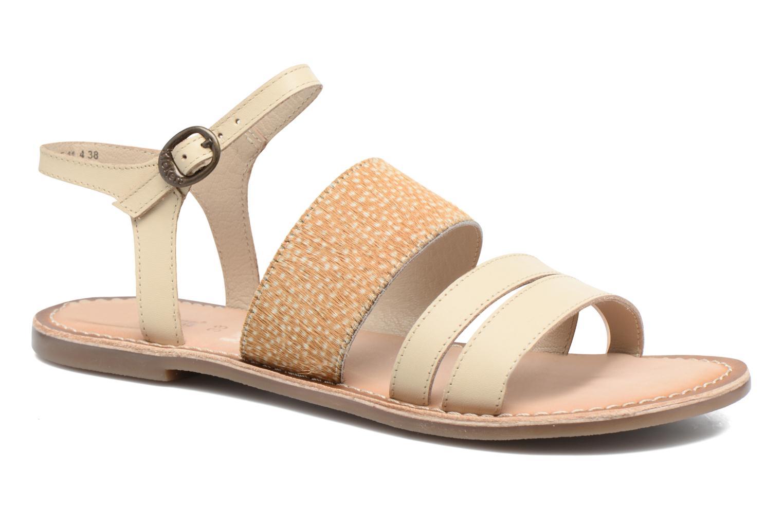 Sandaler Kickers Divatte Beige detaljeret billede af skoene