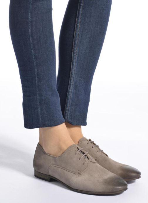Zapatos con cordones Kickers Galla Azul vista de abajo