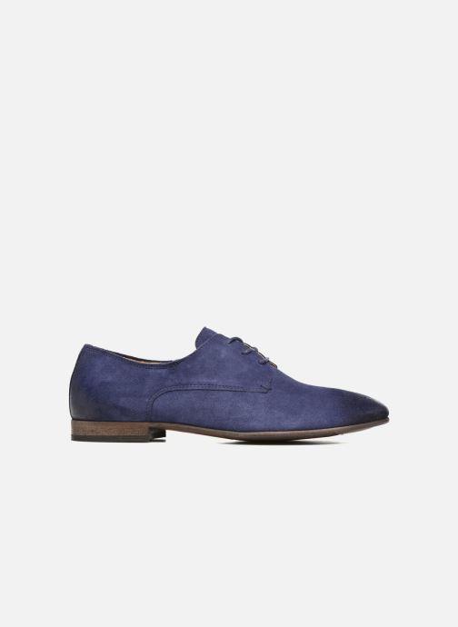 Zapatos con cordones Kickers Galla Azul vistra trasera