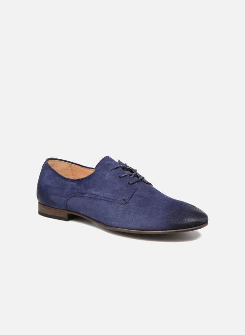 Zapatos con cordones Kickers Galla Azul vista de detalle / par