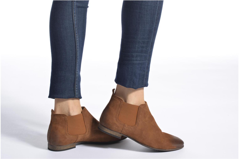 Stiefeletten & Boots Kickers Gazette beige ansicht von unten / tasche getragen