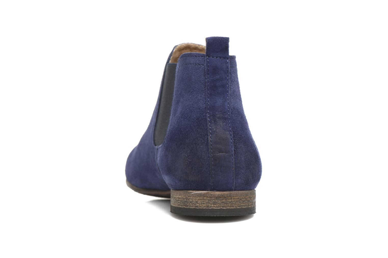 Bottines et boots Kickers Gazette Bleu vue droite