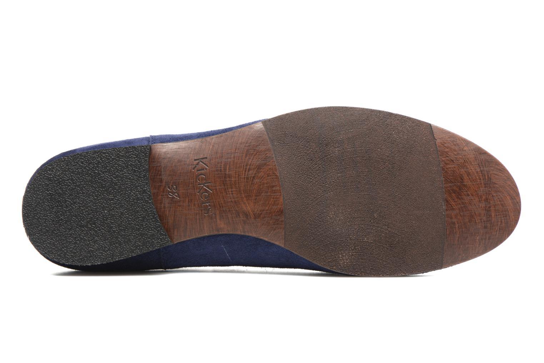 Bottines et boots Kickers Gazette Bleu vue haut