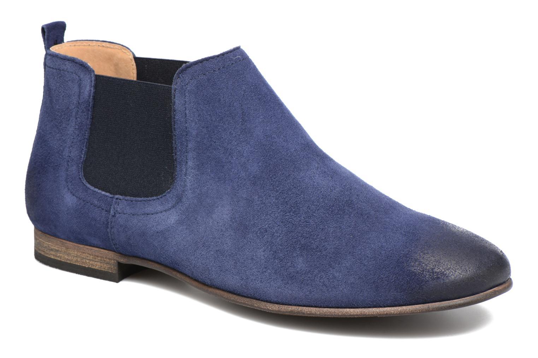 Bottines et boots Kickers Gazette Bleu vue détail/paire