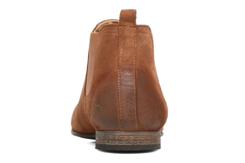 Boots Kickers Gazette Brun Bild från höger sidan