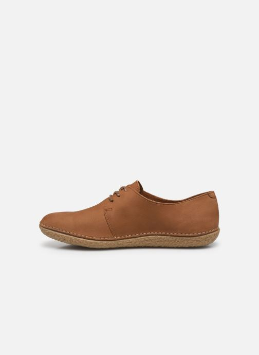 Chaussures à lacets Kickers Holster Marron vue face