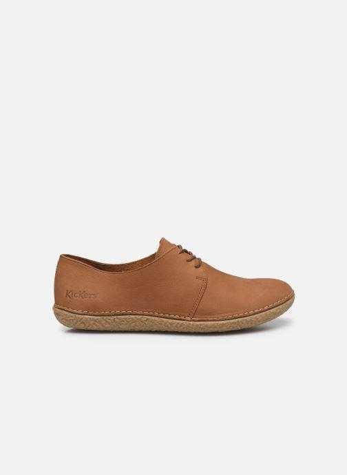 Zapatos con cordones Kickers Holster Marrón vistra trasera
