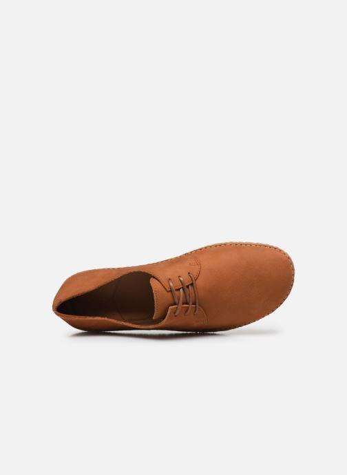 Zapatos con cordones Kickers Holster Marrón vista lateral izquierda