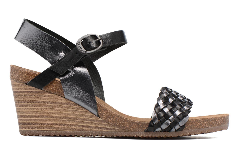 Sandaler Kickers Splendid Grå bild från baksidan