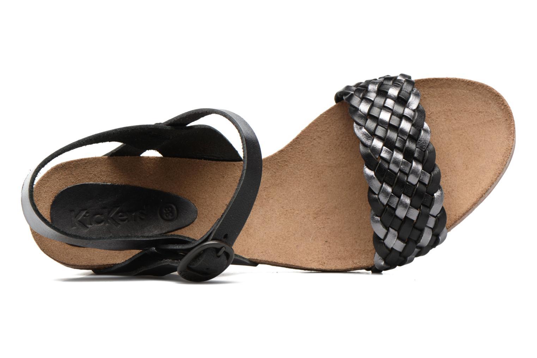 Sandaler Kickers Splendid Grå bild från vänster sidan