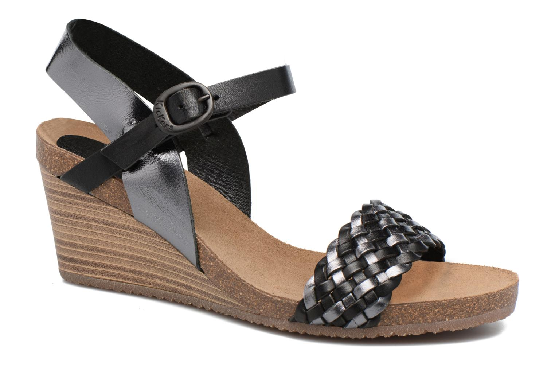 Sandaler Kickers Splendid Grå detaljerad bild på paret