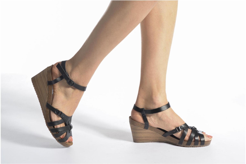 Sandales et nu-pieds Kickers Split Multicolore vue bas / vue portée sac