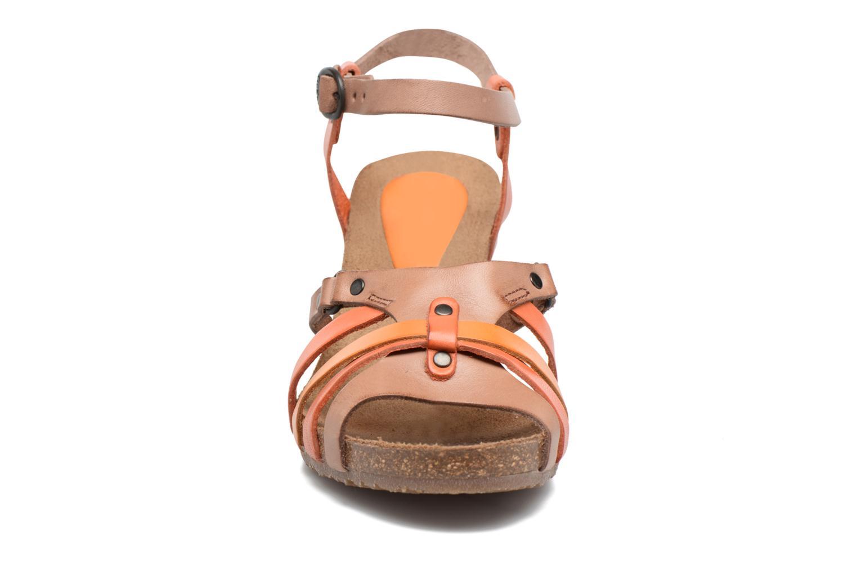 Sandales et nu-pieds Kickers Split Multicolore vue portées chaussures