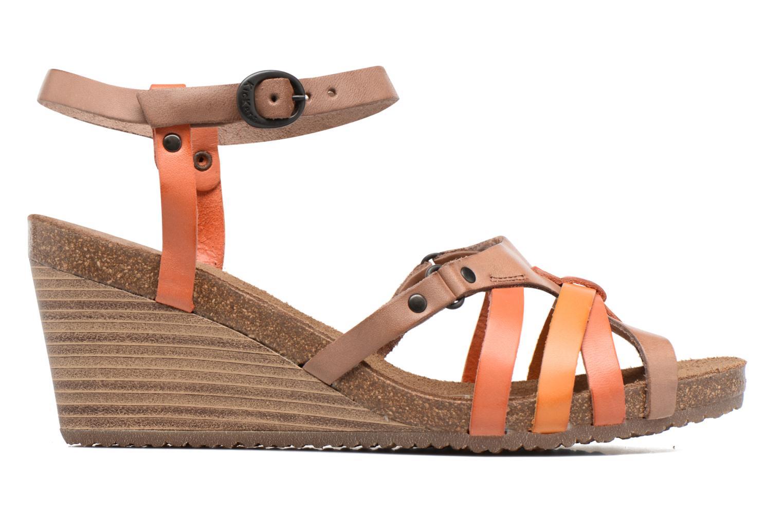 Sandales et nu-pieds Kickers Split Multicolore vue derrière