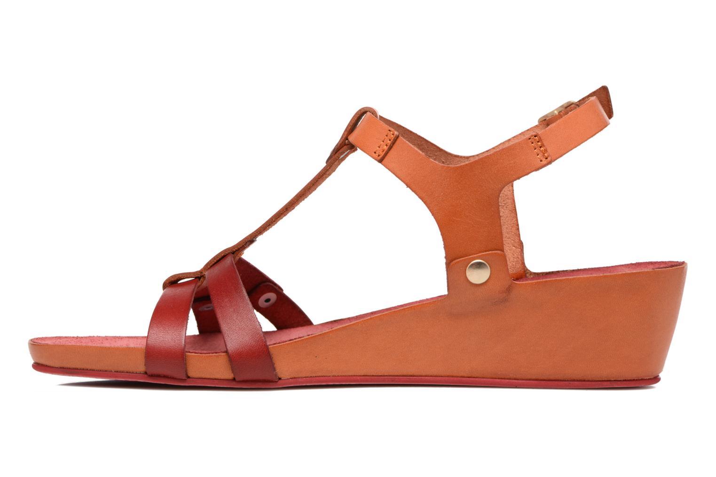 Sandaler Kickers Takit Orange se forfra