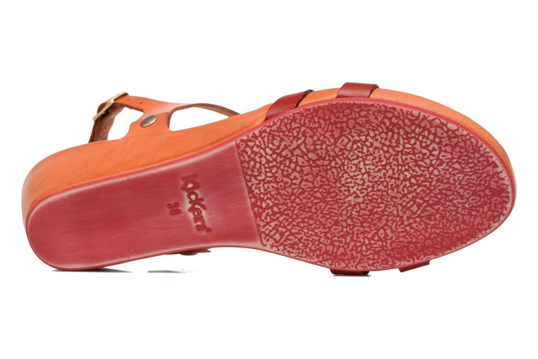 Sandaler Kickers Takit Orange se foroven