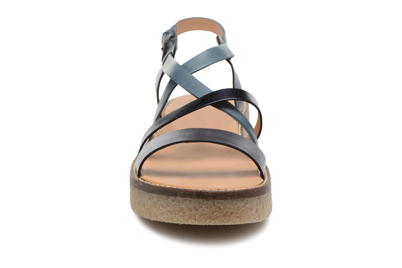 Sandalen Kickers Valentina Blauw model