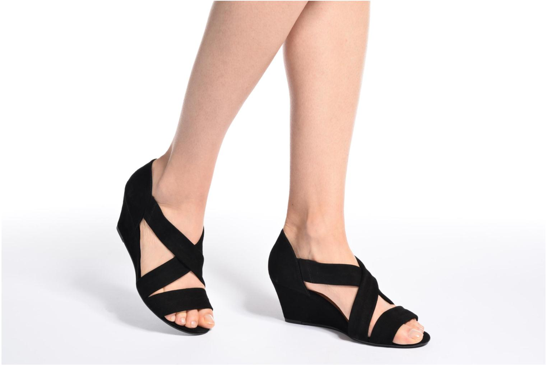 Sandalen COSMOPARIS Vika/Vel Zwart onder