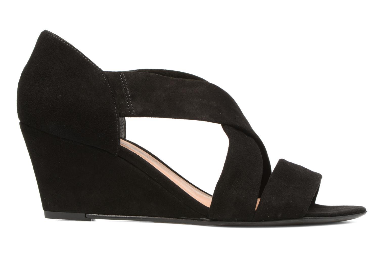 Sandalen COSMOPARIS Vika/Vel Zwart achterkant