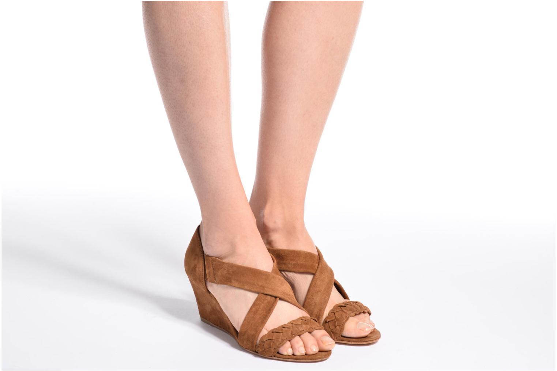 Sandali e scarpe aperte COSMOPARIS Vika/Tre Marrone immagine dal basso